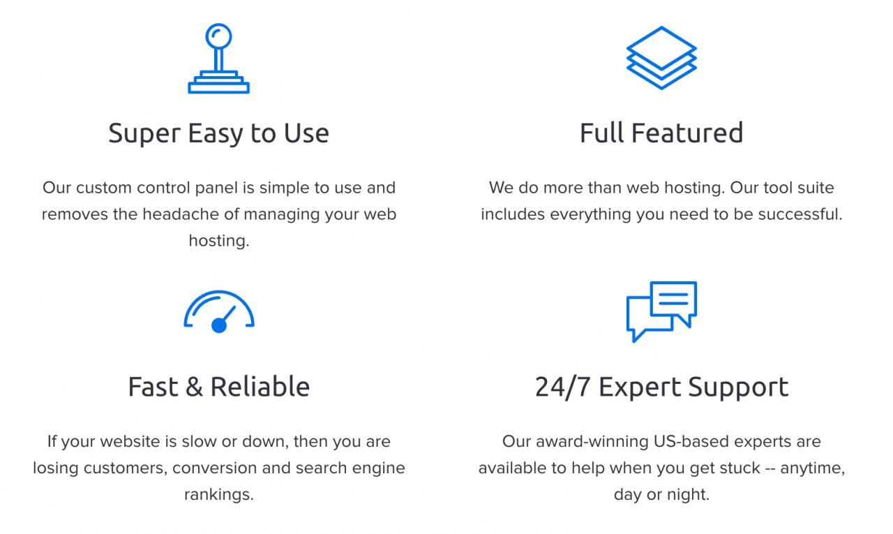 DreamHost tiene un cpanel personalizado y un servicio rápido y confiable.