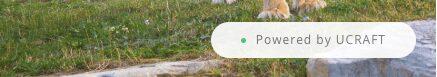 Anuncio de pie de página flotante de Ucraft