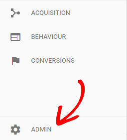 haga clic en administrador
