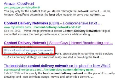 sitio de google block
