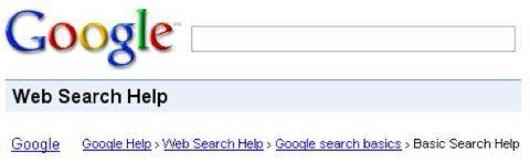 migas de pan de google