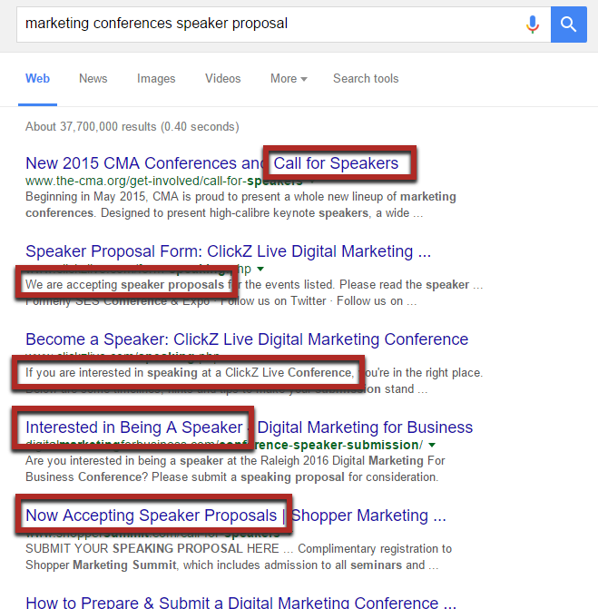 conferencias de marketing