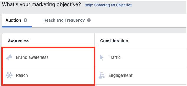Anuncios de Facebook para emprendedores