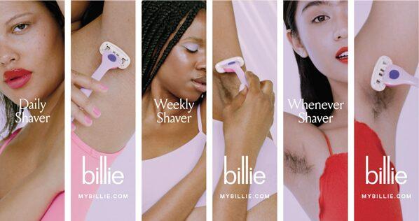 ejemplo de marketing de productos campaña de billie body hair